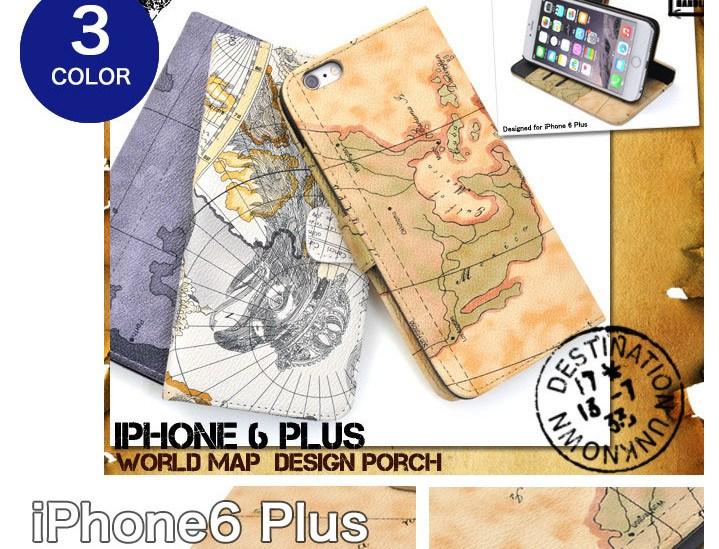 地図柄iPhone6plusケース