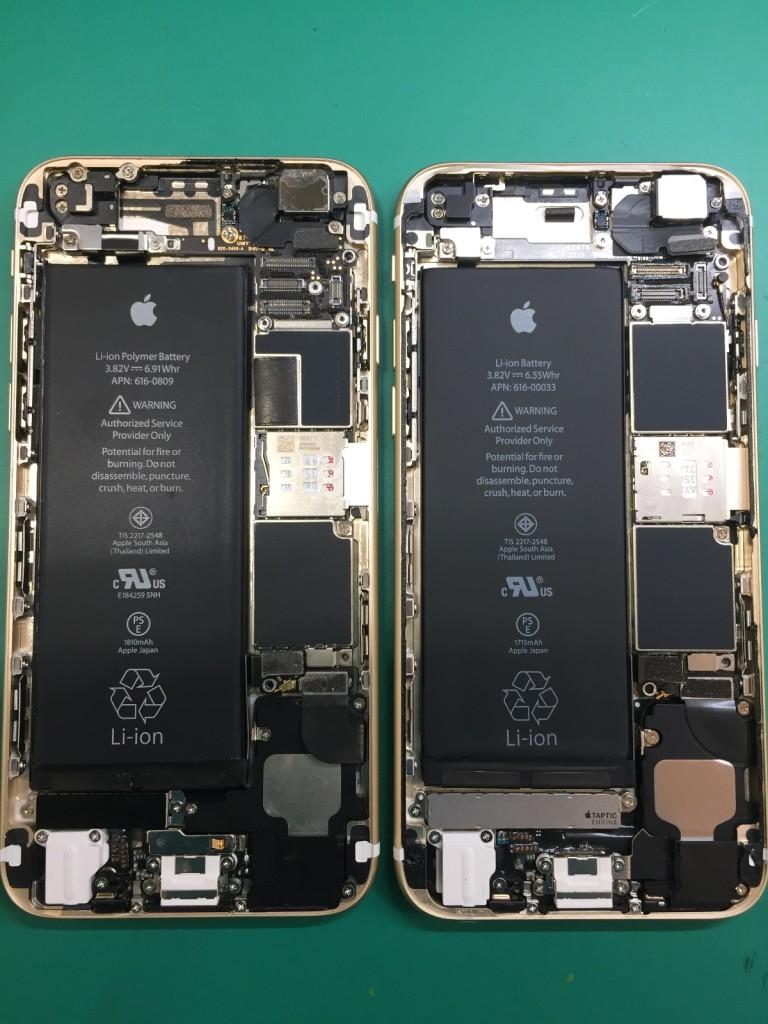 アイフォン6s中身