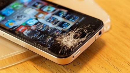 液晶割れiPhone