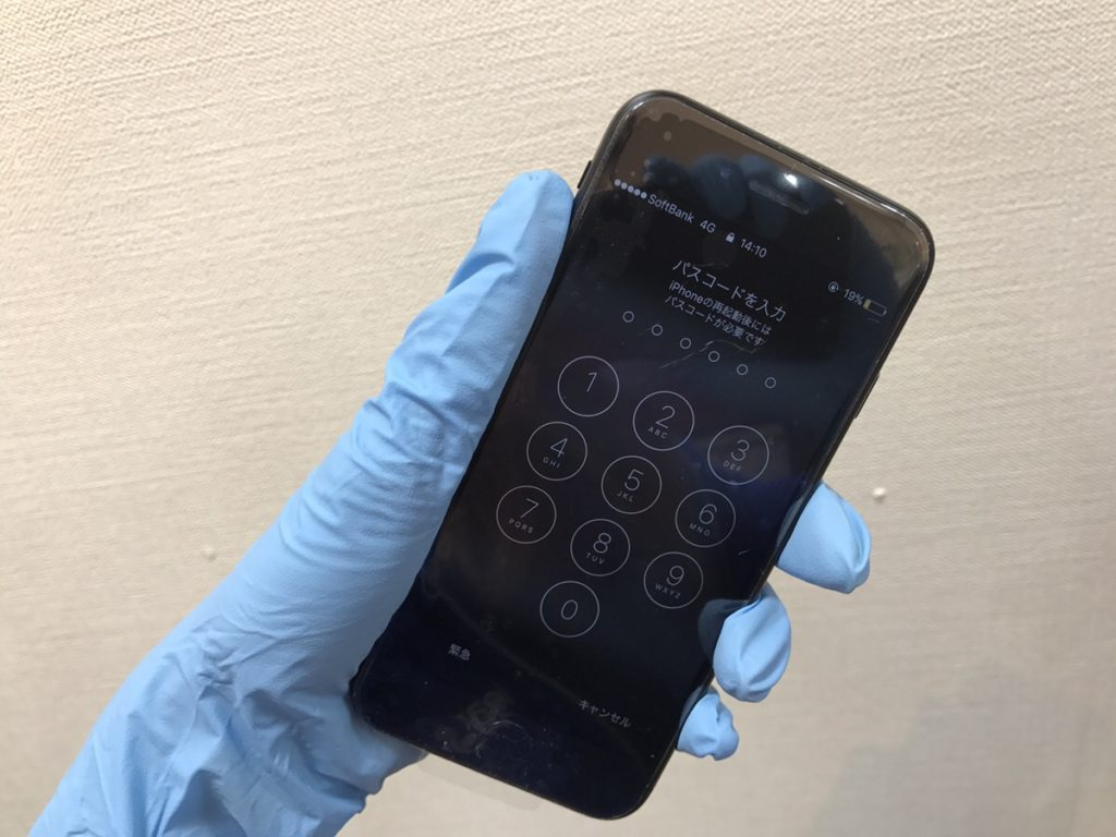 iPhone7フロントパネル交換後.0112