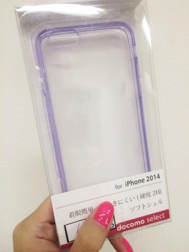 シンプルiPhone6透明ケース