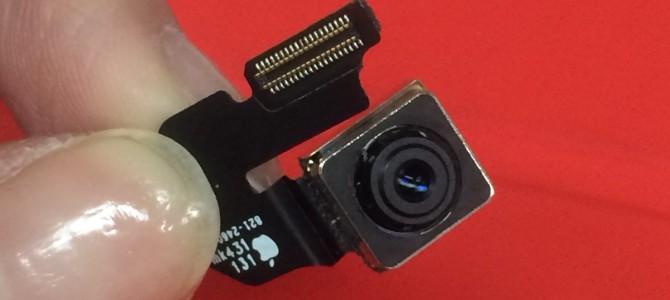 アイフォン修理報告【iPhone6バックカメラ】