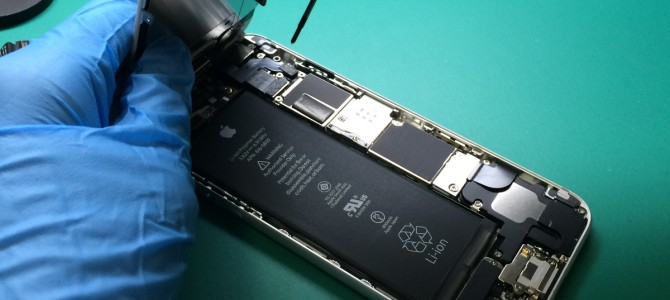 アイフォン修理報告【パネル割れ】