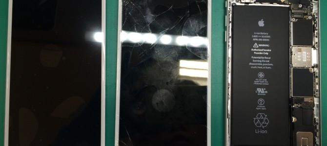 アイフォン修理報告【iPhone6sパネル交換】