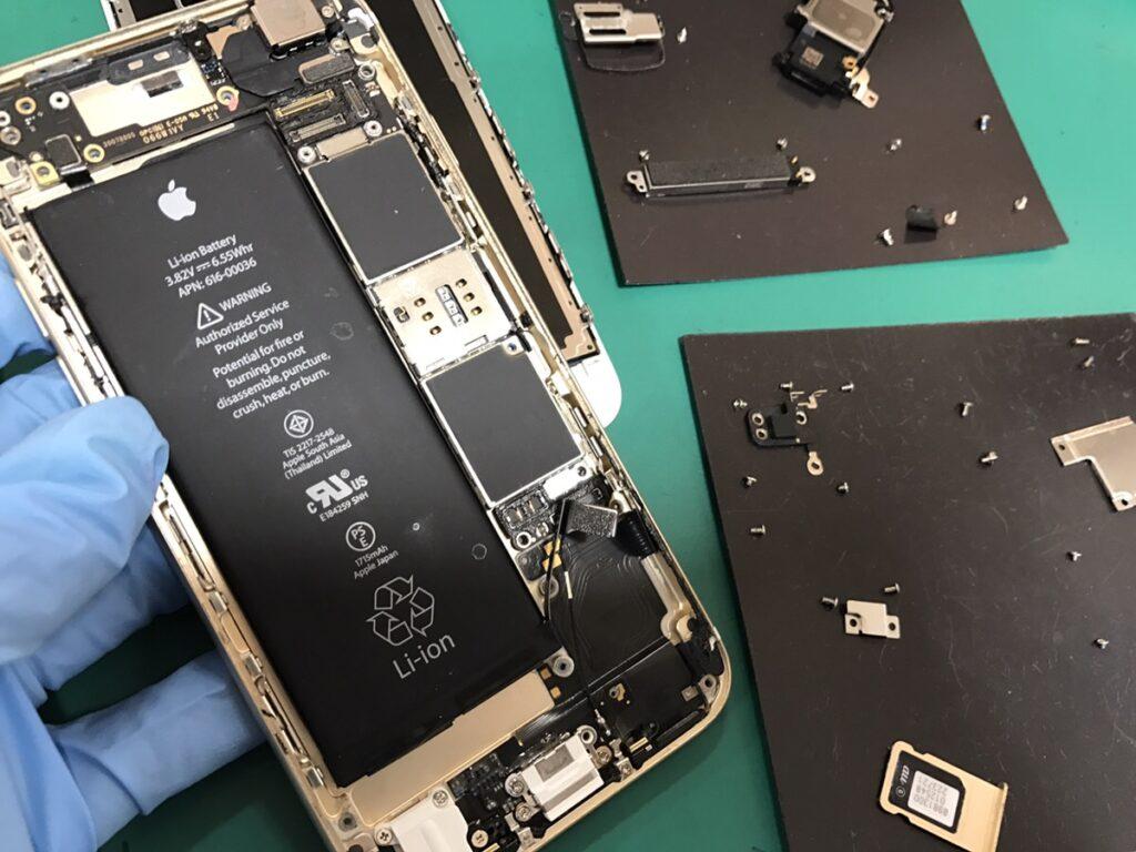 iPhone6s水没1.1222