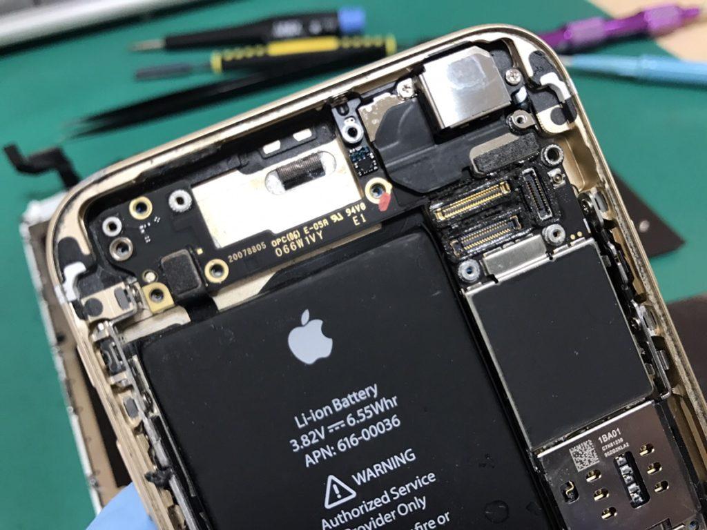 iPhone6s水没2.1222
