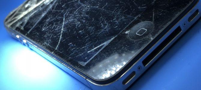 札幌手稲区よりiPhone4s画面割れ修理